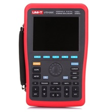 цена на UNI-T UTD1202C 2 Channel 200MHz 1GS/s Handheld Digital Storage Oscilloscope Oscillograph with Multimeter