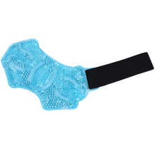 Feet Sports Ice Therapy Wrap Cold Ankle Wrap for Sprained Ankles (Sky-blue)