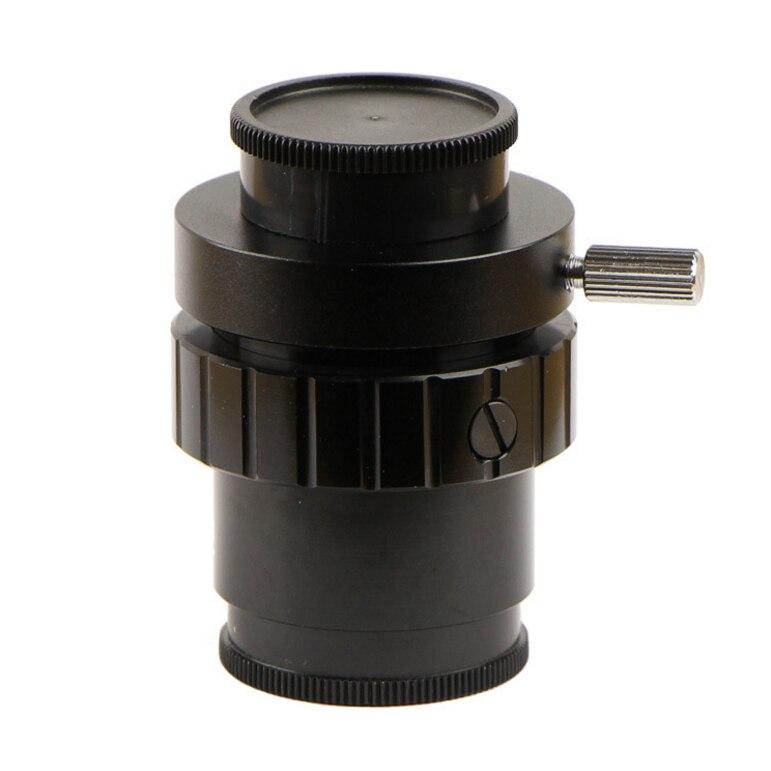 Connecteur vidéo de microscope stéréo trinoculaire 1X/0.5X/0.3X CCD1/2CTV 1/3CTV adaptateur