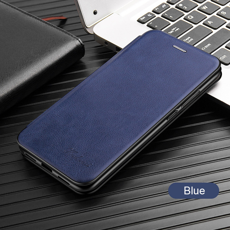 Leather Flip Case For Samsung Galaxy a10 a20 a30 a40 a50 a70 s8 s9 s10 note 10 plus s20 17