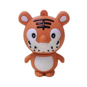 Popular Cartoon Lion Pendrive 32GB Usb Flash Drive High Speed Usb2.0 Pen 4GB 8GB 16GB 64G 128G 256GB Stick