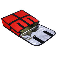 11 pouces Thermique Boîtier Étanche Résistant À L'usure Sac de Livraison De Pizza Alimentaire Pique-Nique De Stockage De Support De La Boîte Conteneur Portable Isolé