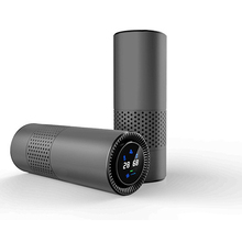 Smart Usb Car Air Purifier, Efficient Portable Negative Ion Purifier for Removing Formaldehyde Odor, Used In Car Home Office