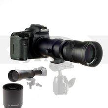 JINTU 420-1600mm f/8.3 HD Manual Telephoto Lens for Nikon D5100 D5200 D5300 D5500 D5600 D7100 D7200 D7500 D90 D600 D610 D700 D90