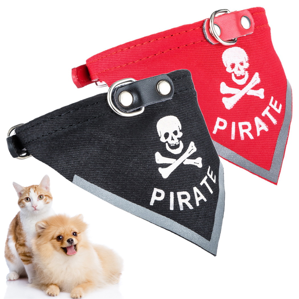 Fashion Cat Dog Bandana Bibs Scarf Collar Adjustable font b Pet b font Neckerchief Scarf Waterproof