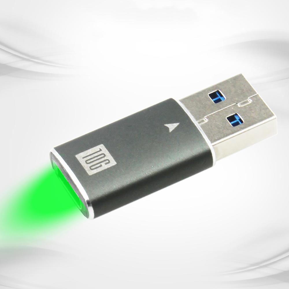 Aluminum Shell Converter TYPE-C USB3.1 Adapter TYPE-C TO USB3 For Male Data Cable Device