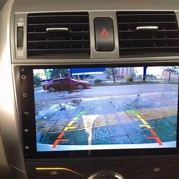 Câmera de visão traseira do carro invertendo câmera de estacionamento para-vw touran passat jetta caddy golf t5 transportador