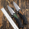 Petrified fish D2 steel 838 folding knife outdoor tactical pocket knives G10 handle camping hunting survive Cutter EDC tool 1