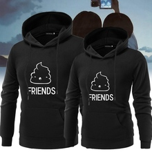 Women Christmas Couple Hoodie Lover's Autumn Winter Hoody