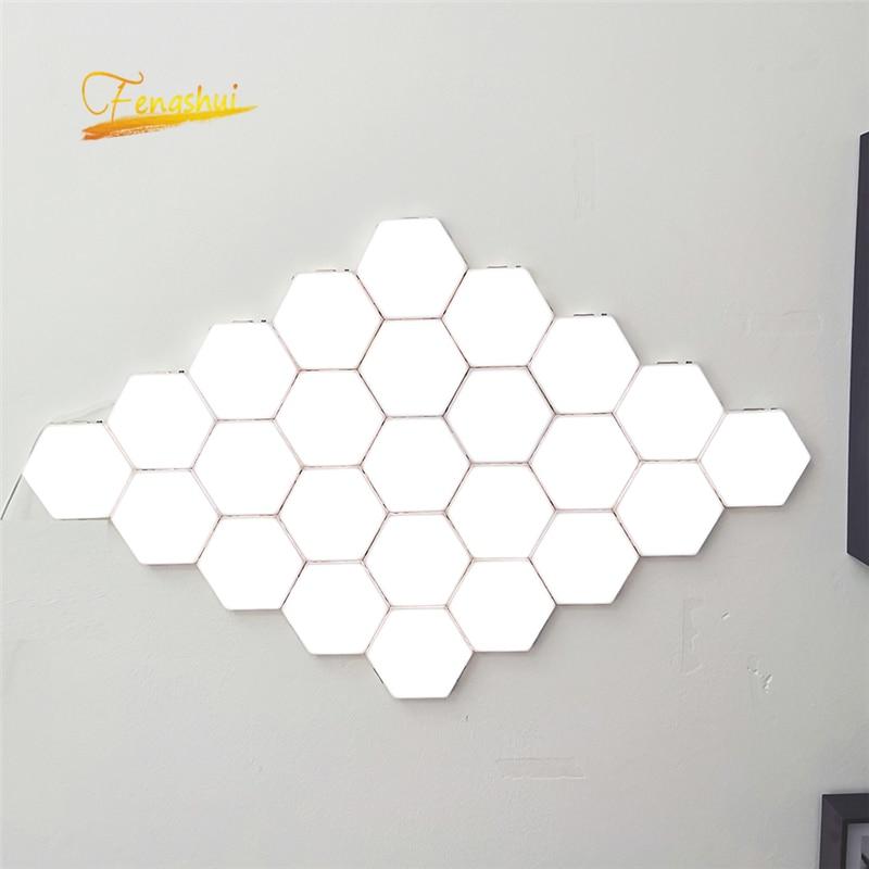 Modern LED Night Lights Quantum Lamp Modular Touch Light Touch Sensitive Lighting LED Night Lamp Magnetic DIY Home Decor Lights