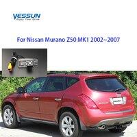 Yessun Especial Do Carro Rear View Camera Reversa backup de estacionamento retrovisor Para Nissan Murano Z50 MK1 2002 ~ 2007