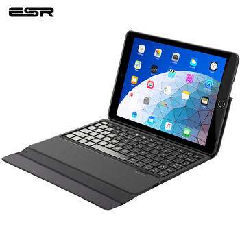 ESR Bluetooth Wireless Keyboard Case For iPad 12.9/11/10.5/9.7/7.9 2018 2017 iPad Air 3 MINI 5 4 Smart Case Tablet Keyboard original chuwi hi12 rotating keyboard removable 12 inch tablet keyboard for hi12 tablet pc rotary keyboard