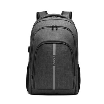 Kono Fashion Large Capacity Laptop Usb Backpack Waterproof and Durable Men Backbag for Travel Business and Leisure 7
