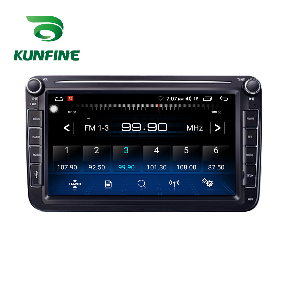 8 Inch Universal Stereo for VW with button 1GB RAM 16GB ROM Android 9.1 Car radio Multimedia Video Player auto Stereo GPS Radio
