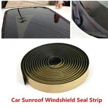 5 м уплотнительная прокладка Накладка для автомобиля Передняя Задняя ветровое стекло люка уплотнитель резиновый люк, конвертируемый и жесткий Топ запасные части