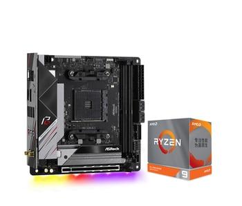 ASRock B550 Phantom Gaming-ITX/ax motherboard +R5 3600X/3600XT R7 3700X/3800X/3800XT R9 3900X 3900XT CPU board set