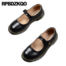 Zapatos de diseñador de punta redonda cómodos tamaño 35 de las señoras de la vendimia de las señoras cómodos marrón negro 2019 zapatos baratos de china para mujeres chinas