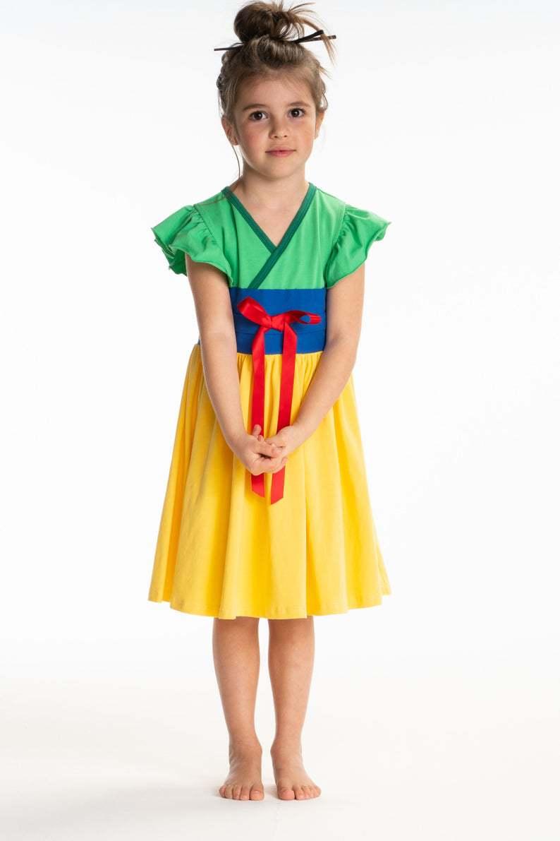 Lumivalgekese kostüüm lastele 1