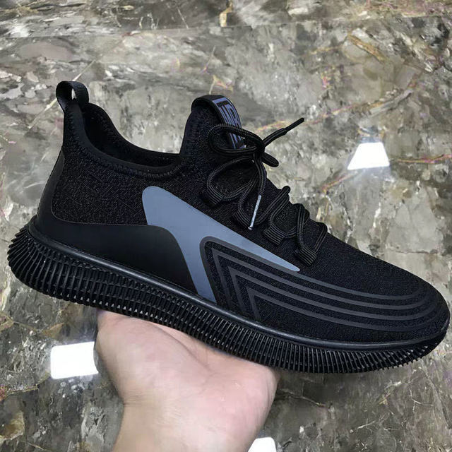 Fashion Men Sneakers Mesh Casual Shoes Lac-up Mens Shoes Lightweight Vulcanize Shoes Walking Sneakers Zapatillas Hombre size 44 5