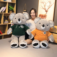 Large Cartoon Simulation Sweater Koala Plush Toy Stuffed Toys Childrens Home Decoration Gift
