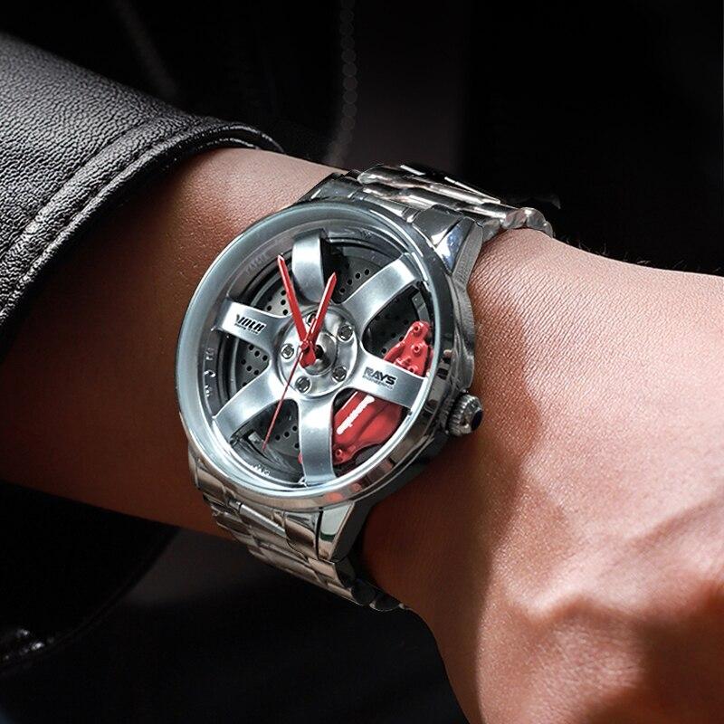 Ultimate SaleNektom Watch Sport-Car Custom-Design Creative Waterproof Relogio Rim-Hub Masculino Man