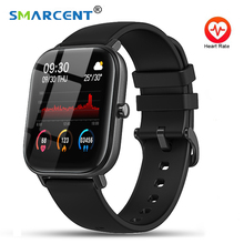 Smart Watch Men P8 IP67 Waterproof Fitness Tracker Sport Heart Rate Monitor Full Touch Smartwatch Wo