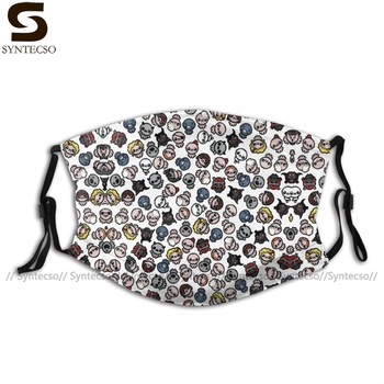 The Binding Of Isaac Mouth Face Mask Characters Pattern Facial Nice with Filters