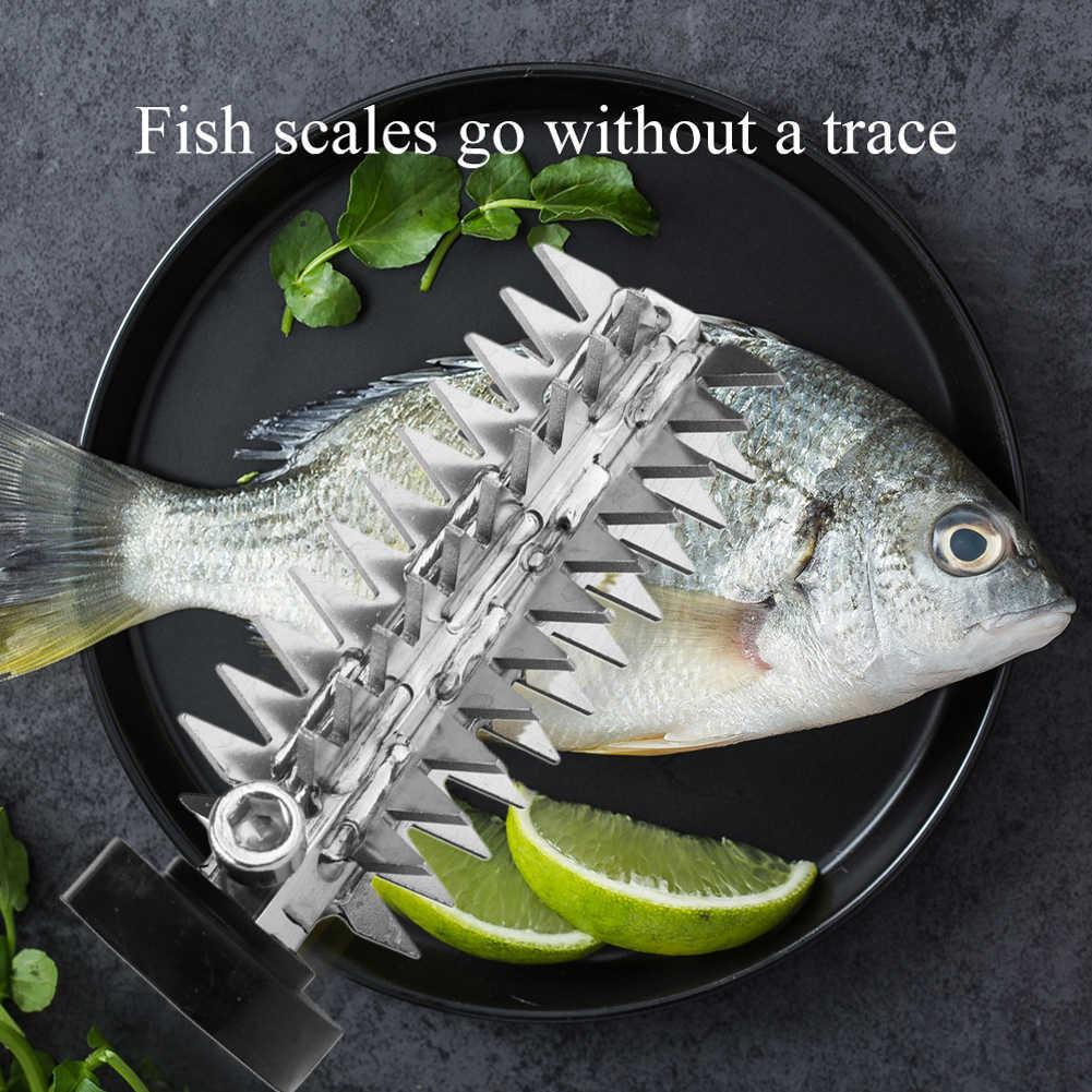 Frutti di mare Rimuovere Cucina In Acciaio Inox Elettrico Scaler Pesce di Pulizia di Ricambio Durevole Strumento di Casa Testa di Taglio Raschietto Rapido