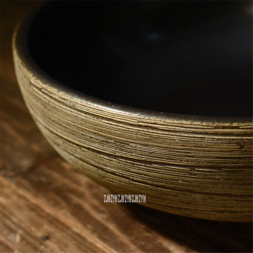Ванная комната художественная линия бассейна Бытовая высокая температура керамика раковина туалет ручной работы умывальник чаша для отеля клуб КТВ