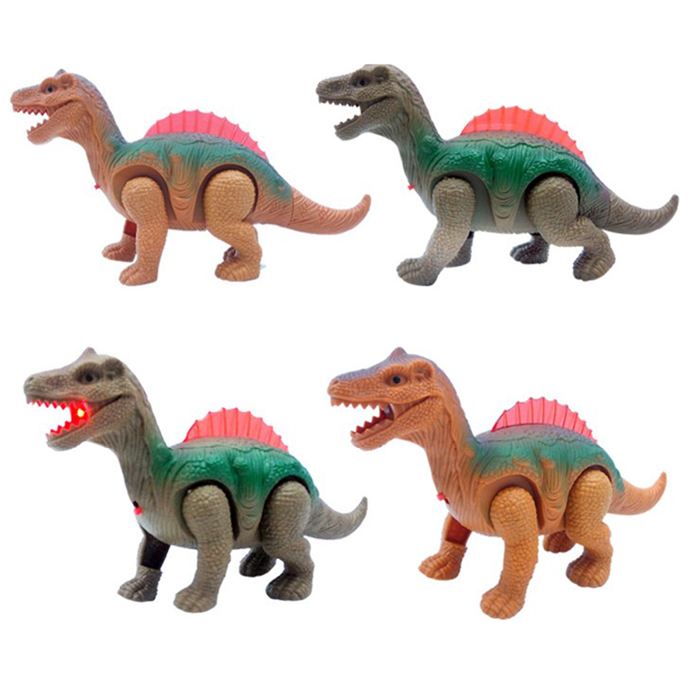 Random Color Electric Toy Simulation Walking Dinosaur Robot Electronic Actions Pets Kids Children Toys