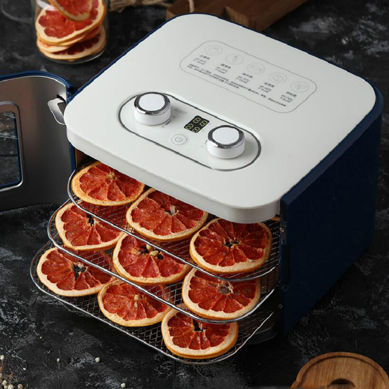 Food Dehydrator Dried Fruit Machine Fruit Dryer For Home Small Pet Snack Fruit And Vegetable 4 Floors Of Large Space