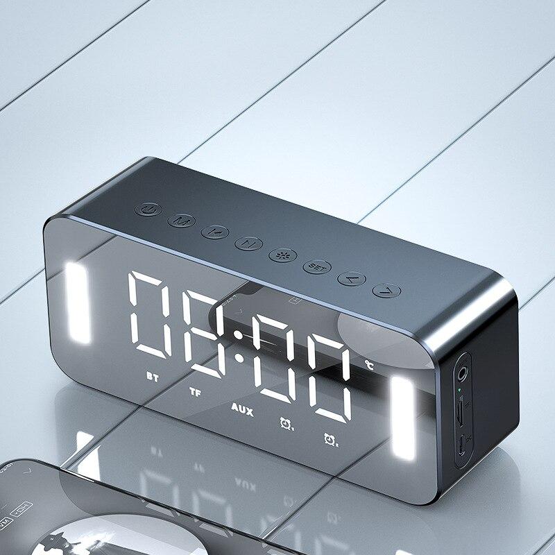 Купить светодиодный портативный bluetooth динамик s 10 вт беспроводной