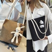 Cute Adult Casual Bag Magnetic Buckle Cartoon Panda Rabbit For Big Boys Girls Crossbody Shoulder Korean Unisex Messenger