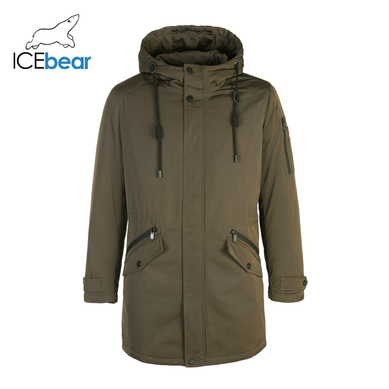 ICEbear 2019 New Down Coat Men Winter New Long Male Jacket High Quality Warm Outwear Coats For Men Brand Clothing MPN317946