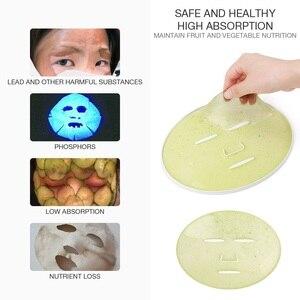 Image 4 - Машинка для ухода за лицом, автоматическое устройство для самостоятельного приготовления маски с натуральным овощным коллагеном, для домашнего использования, для красоты, спа салона, Eng Voice