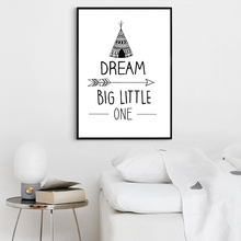 Black White Nordic Minimalist Typography Quote Canvas Art Print Painting Poster, Wall Pictures For Home Decoration, Hogar decor