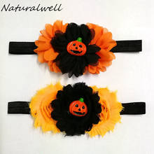 Halloween baby girl headband Infantil headbands abóbora Presente tiara headwrap cabelo bat Tie arcos newborn Toddlers Headwear HB864B(China)