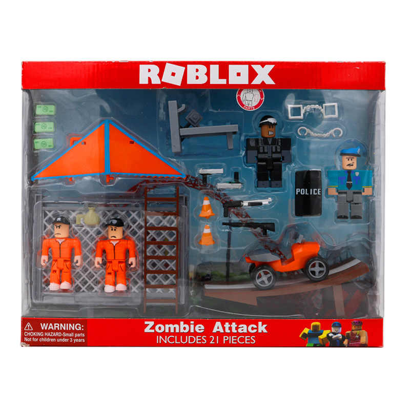Roblox Jailbreak Great Escape Playset 7cm Model Dolls Children