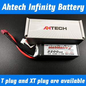 Ahtech original Infinity 45 c 11.1 V lithium battery 2200 mah 5 c 3 s quick charge model aircraft batteries
