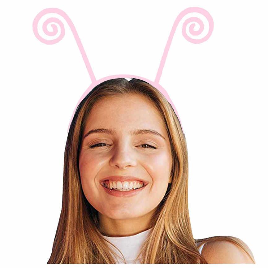 Erwachsene Kinder Nette Stirnband Schmetterling Antenne Design Haar Band Cosplay Kostüm Stirnband Haar Styling Ozdoby Tun Wlosow Nette 201915