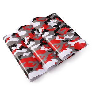 Image 4 - 1.52mx30M Black Grey White Green Red Real Camo Vinyl Car Wrap PVC Adhesive Camouflage Film Stickers For Full Car Wrapping Decals
