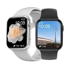 Reloj inteligente W26 para hombre y mujer, con Bluetooth, Monitor de frecuencia cardíaca, podómetro electrónico, IWO 12, para teléfono Android e IOS