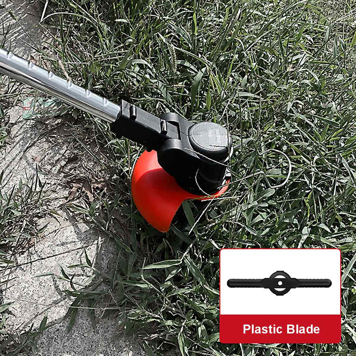 7500mah Cordless Auto Tools Cutter Lawn 118VF Battery Trimmer Garden With Pruning String Electric Mower Grass Release