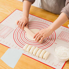 Tapis de cuisson antiadhésif en Silicone, 1 ensemble d'outils de cuisson et de pâtisserie, grattoir à pâte, 1 pièce