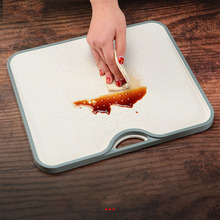 Hang Hole Cutting Board Anti Bacterium Food Vegetable Fruit Non-Slip Chopping Board Home Kitchen Tools Accessories Kitchen Stuff цена и фото