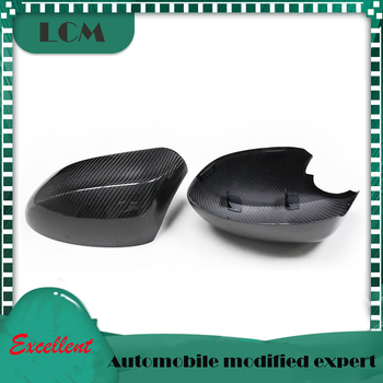 2009-2015 Carbon Fiber Rear View Mirror Cover For-BMW Z Series Z4 E89 Add On &Replacement Style carbon side caps image