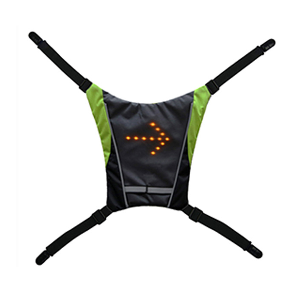 Portable Practical Steering Light Pendant Durable Signal Vest Waterproof Led Backpack Riding