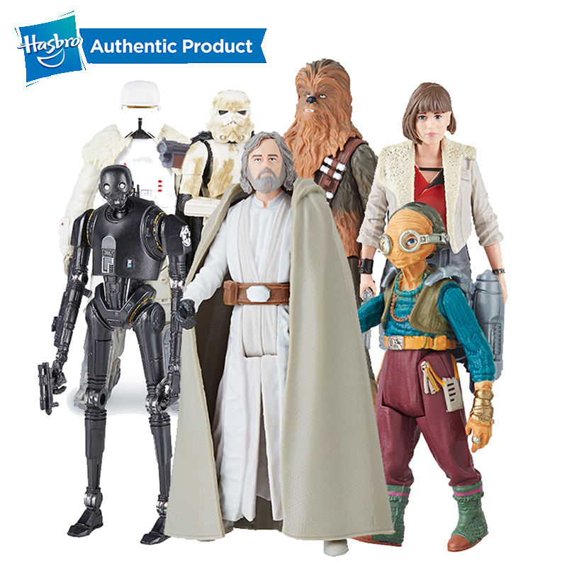 Hasbro  Movie Force Link S2 SWU Qi'Ra Chewbacca K-2S0 Maz-Kanata E8 Skywalker Jedi Master Collection Action Figure Toy