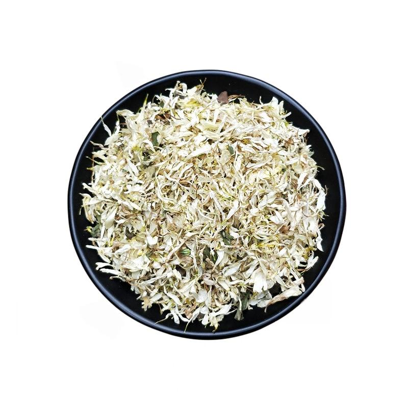 10 г/пакет, натуральный белый цветок хризантем, лепестки для украшения свадьбы/дня рождения, биоразлагаемый декор, праздничный стол