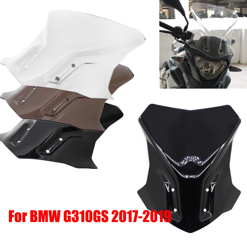 For BMW G310GS G 310 GS 2017 2018 2019 Touring Motorcycle Windshield Windscreen Wind Screen Glass Motorcycle Accessories image